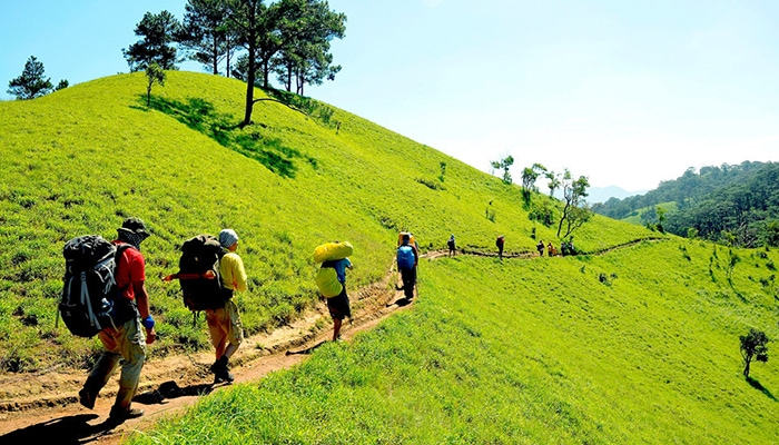Bật mí những kỹ năng di chuyển khi đi trekking