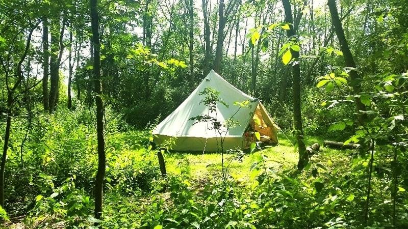 Lưu ý chỗ dựng lều