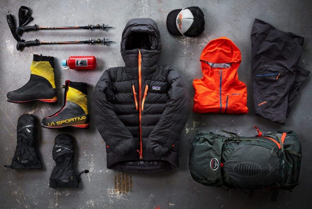 Quần áo đi trekking hang động