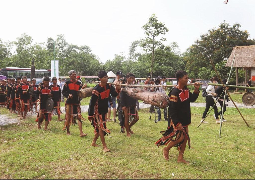 Lễ hội đặc trưng của đồng bào Jrai