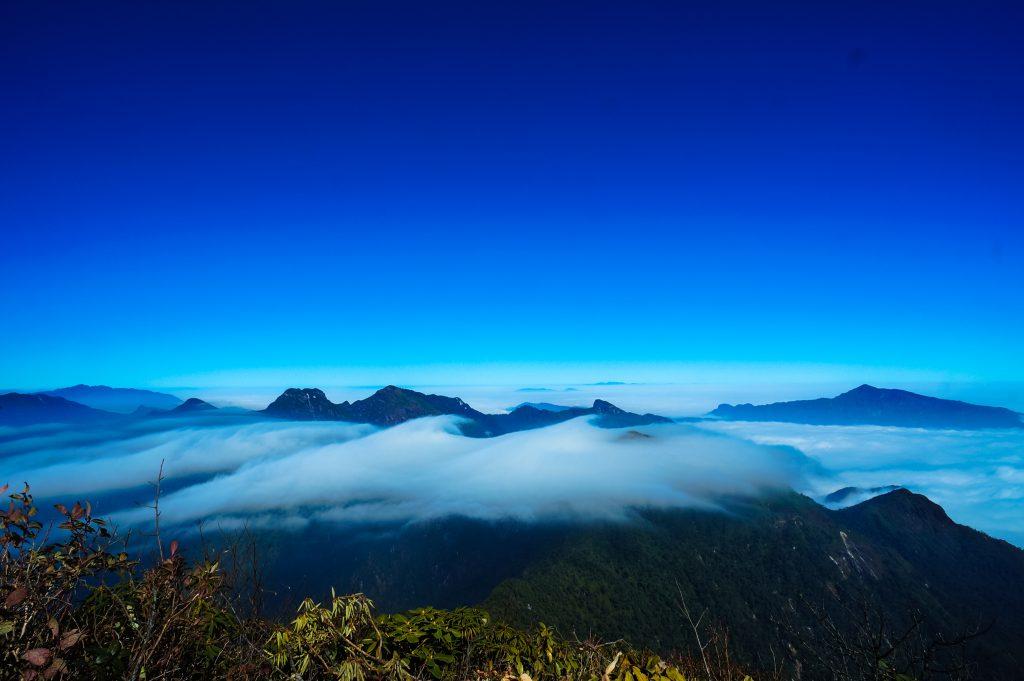 Chiêm ngưỡng biển mây trên hành trình tour chinh phục Nhìu Cô San