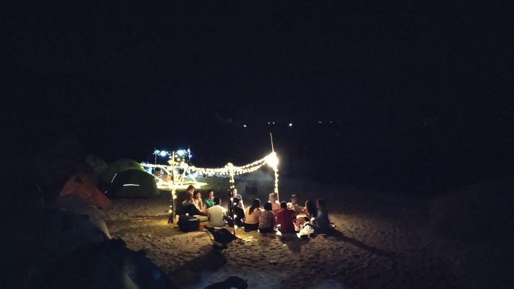 Buổi tối mọi người quây quần bên nhau