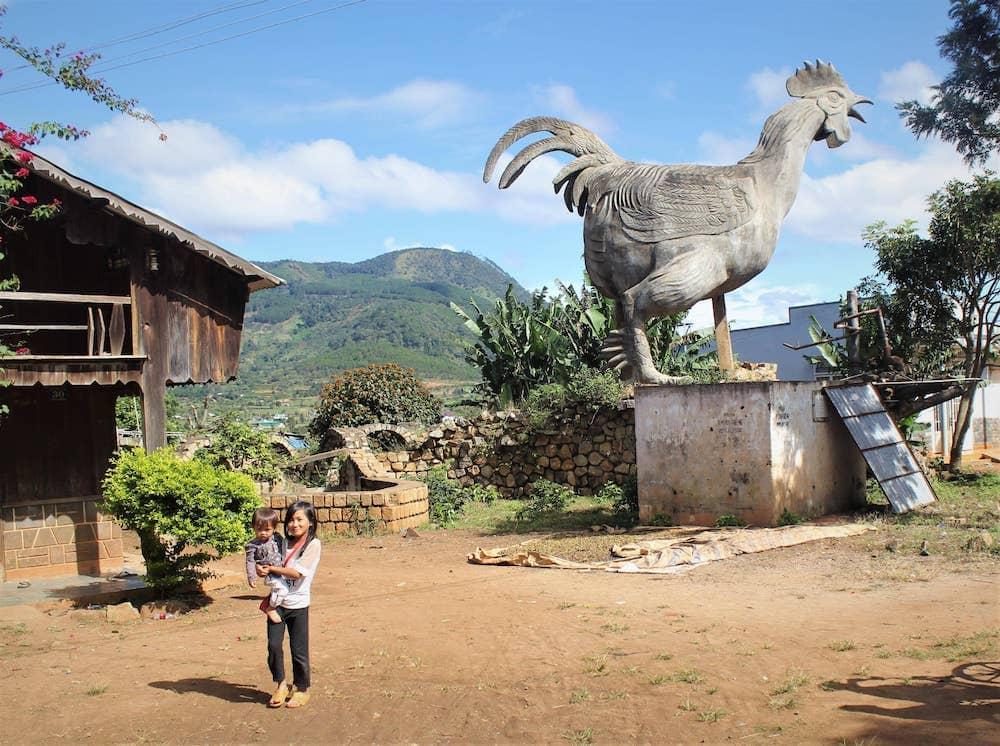 làng Gà
