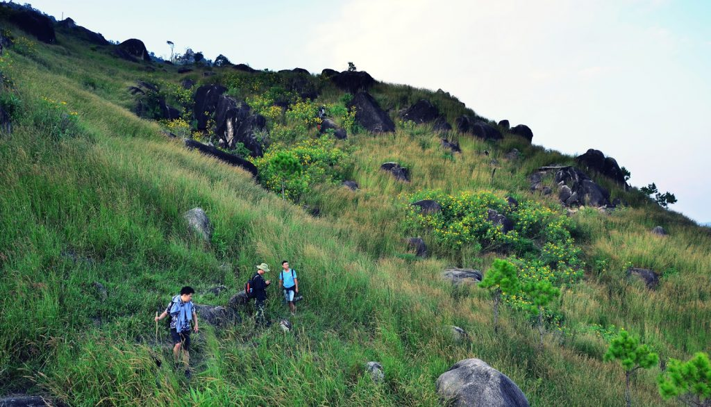 Tour trekking leo núi chinh phục khám phá núi Chư Nâm