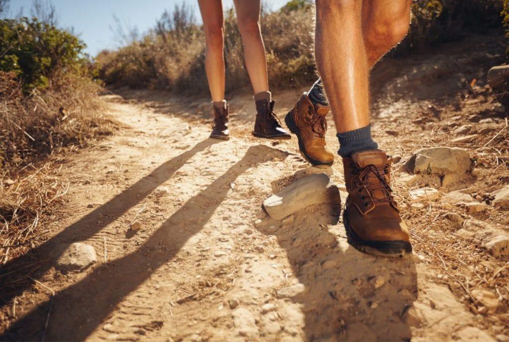 chọn giày trekking