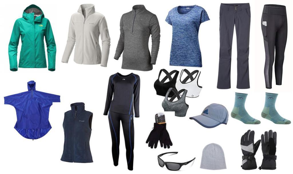 Hướng dẫn chọn trang phục đi trekking, leo núi