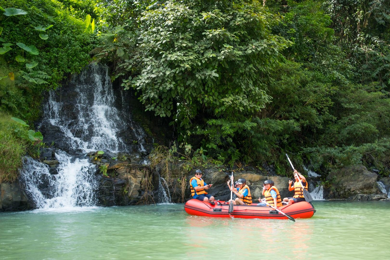 Tour mạo hiểm ở Dray Sáp Thượng-Dray Nur 1 ngày