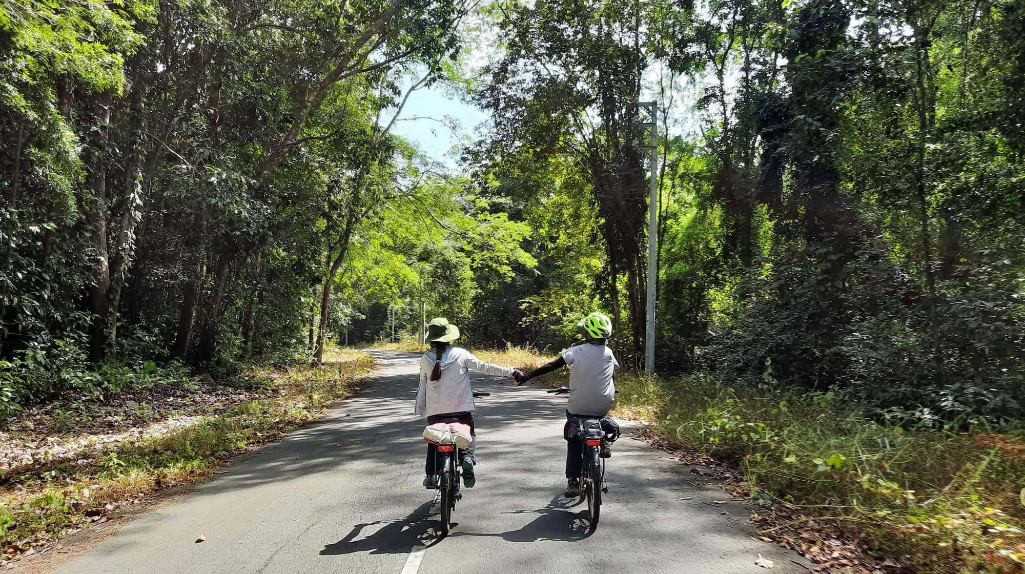 Đạp xe xuyên rừng khám phá thác Mai 2 ngày 1 đêm