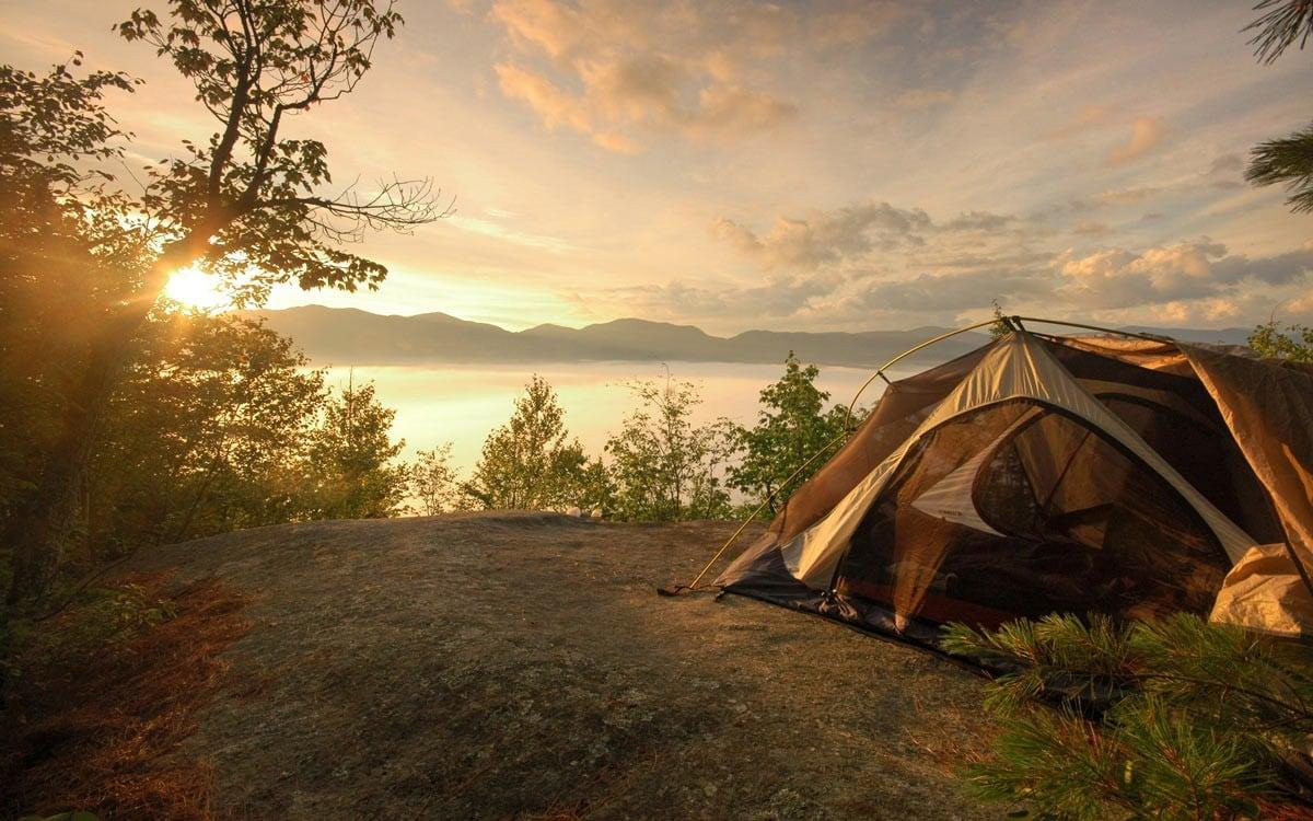 Lưu ý đi cắm trại vào mùa đông