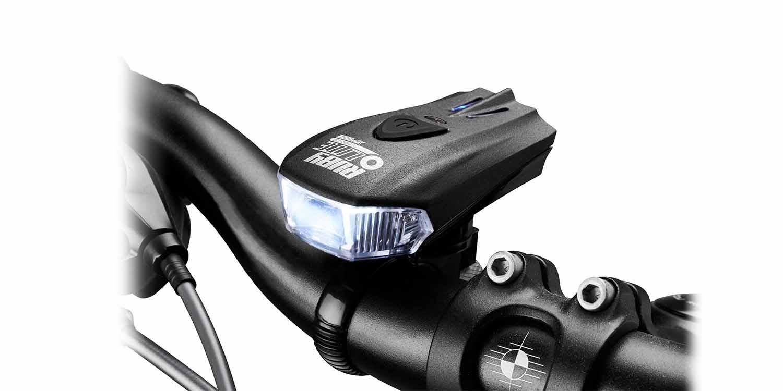 """Trang bị 3 loại đèn xe đạp cho """"xế yêu"""""""