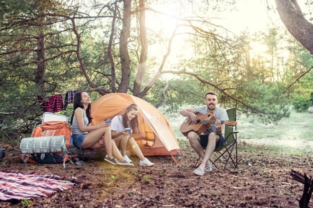 địa điểm cắm lều trại