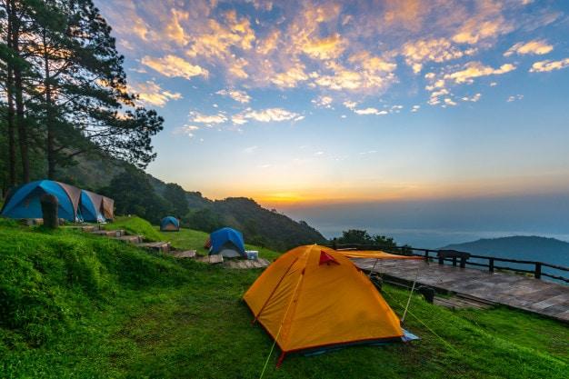dựng lều