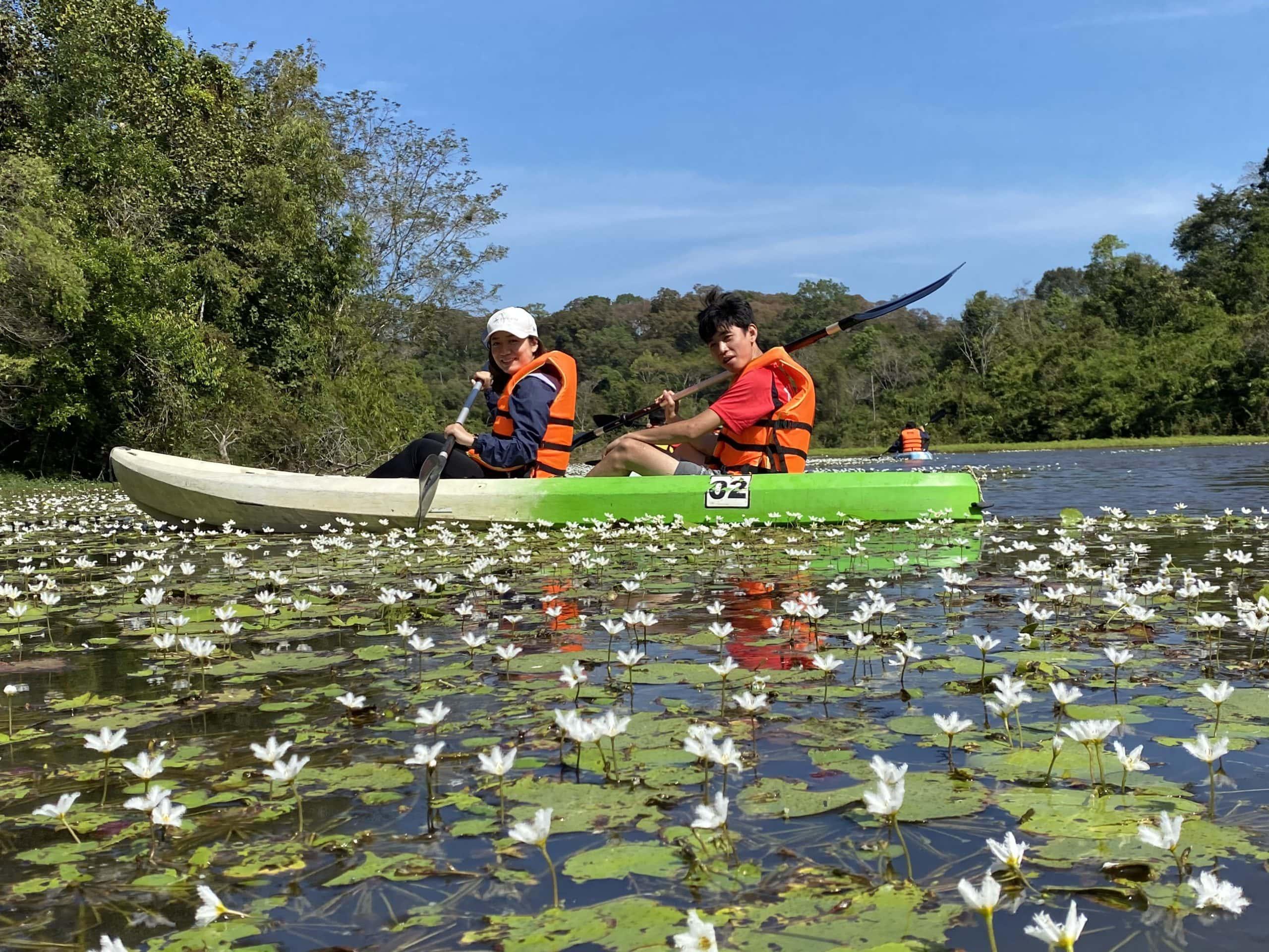 Tour Trekking - Cắm trại tại rừng Nam Cát Tiên dành cho trẻ em