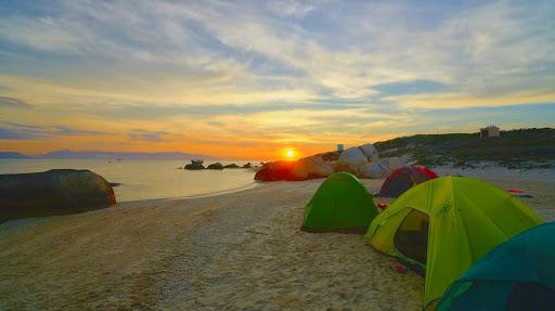 tour du lịch cắm trại cù lao câu